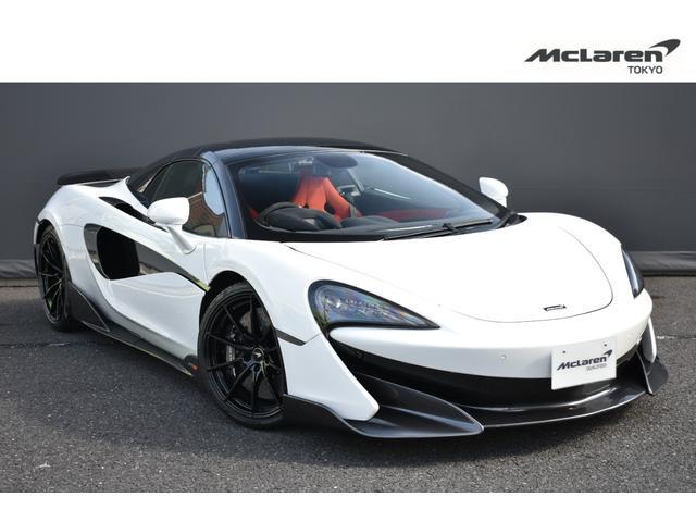 600LTスパイダー(マクラーレン) 右H McLaren Qualified Tokyo 認定中古車 セキュリティパッケージ byマクラーレンインテリア・ミッドナイトブルー 中古車画像