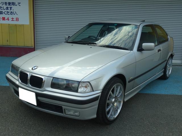 BMW 318ti 走行52000キロ SR 黒革 シートヒーター
