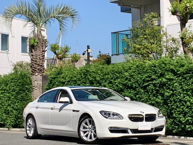BMW 640iグランクーペ 1オーナー SR 白革 禁煙 コンフォートPKG