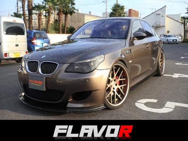 BMW M5 HF21インチ 開放B付きmfr 車高調