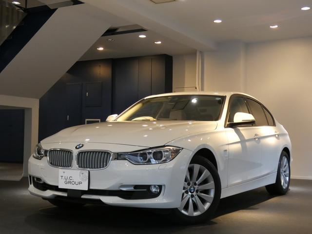 BMW 320iモダン Pスタ ベージュ革 ナビTV 2年保証付