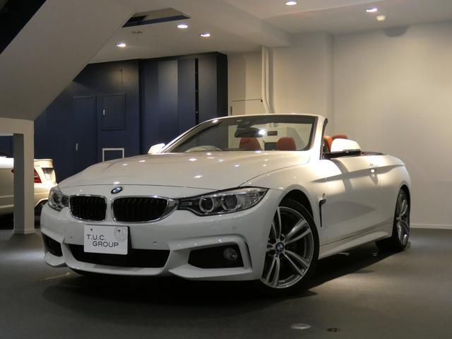 BMW 435iカブリオレMスポ コンフォA ACC 赤革 2年保証