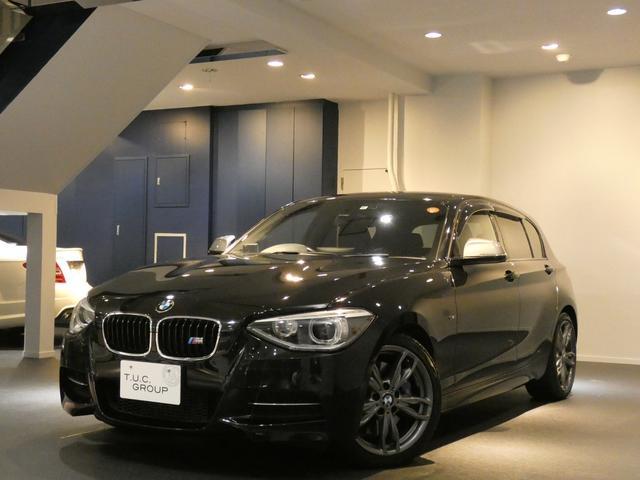 BMW M135i コンフォA 黒革 HDDナビ 2年保証付