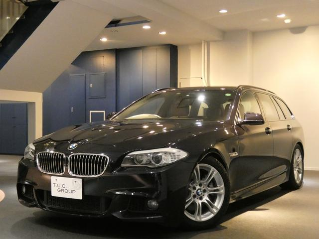 BMW 535iツーリング Mスポーツ コンフォA 茶革 2年保証付