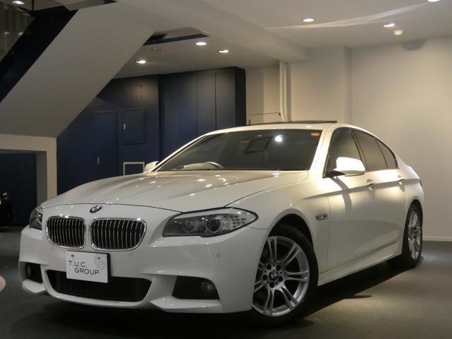 BMW 528i Mスポーツ 1オーナー コンフォA 黒革 2年保証