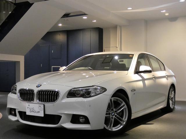 BMW 523i Mスポーツ 後期 コンフォA ACC 革 2年保証