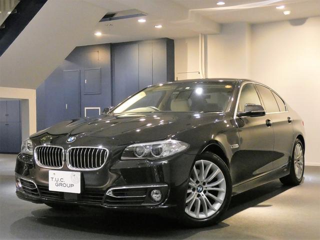 BMW 523i LUX コンフォA ACC ベージュ革 2年保証