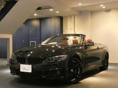 BMW435iカブリオレMスポ コンフォA ACC 赤革 新車保証