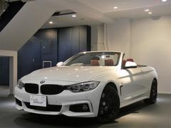 BMW435iカブリオレMスポーツ 1オナ Pスタ 赤革 2年保証