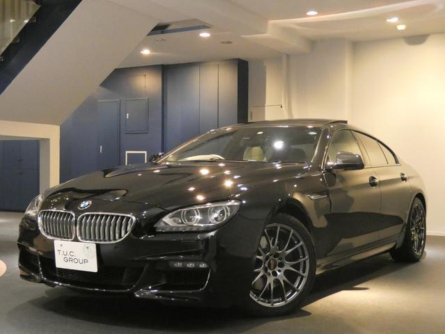 BMW 650iグランクーペMスポーツ コンフォA 白革 2年保証付