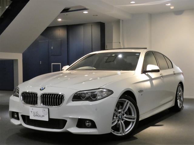 BMW 523dMスポーツ 後期 コンフォA 黒革 ナビ 2年保証