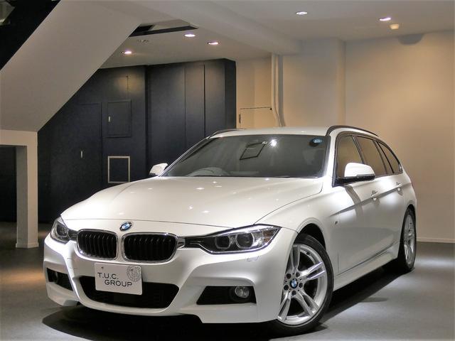 BMW 320iワゴンMスポ 1オナ ACC ナビTV 2年保証