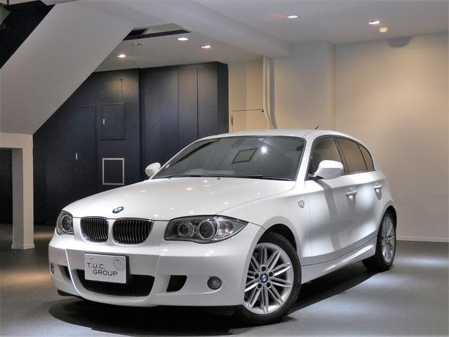 BMW 130iMスポーツ 後期 Pスタ 黒革 HDDナビ 2年保証