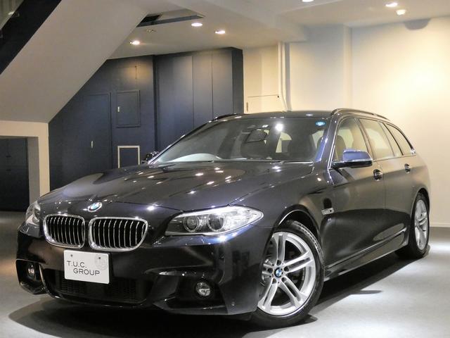 BMW 523iツーリングMスポ 後期 ACC コンフォA 2年保証
