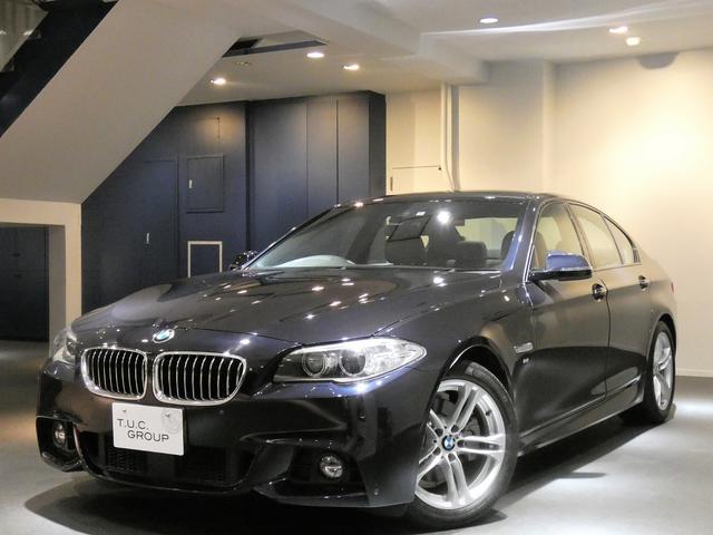 BMW 523i Mスポーツ 後期 コンフォA 茶革 2年保証