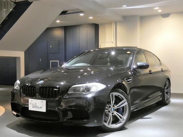 BMW M5 MドライブPKG 正規D車 コンフォA 黒革 2年保証