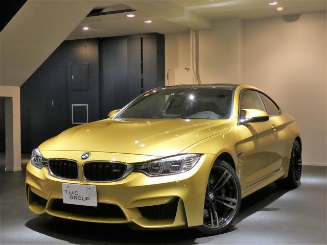 BMW M4クーペ 6速MT コンフォA 黒革 ナビTV 2年保証付