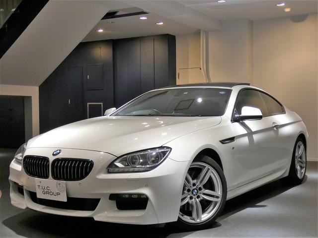 BMW 650iクーペMスポーツ コンフォA 黒革 SR 2年保証