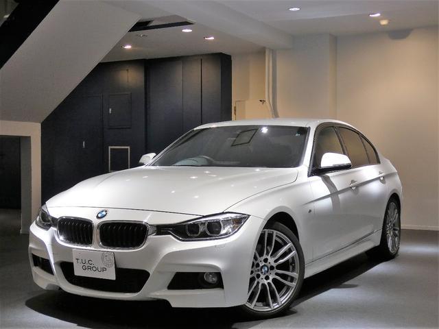 BMW 320iMスポーツ コンフォA インテリS 黒革 2年保証