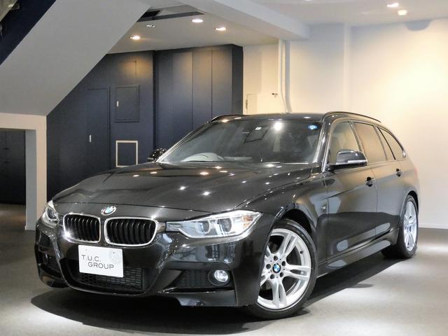 BMW 320iツーリングMスポ コンフォA ナビ 2年保証付