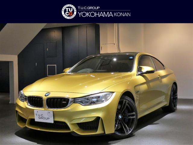 BMW M4クーペ コンフォA 黒革 ナビTV ハーマンK 2年保証