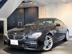 BMW640iクーペMスポーツ 1オナ Pスタ 白革 SR2年保証