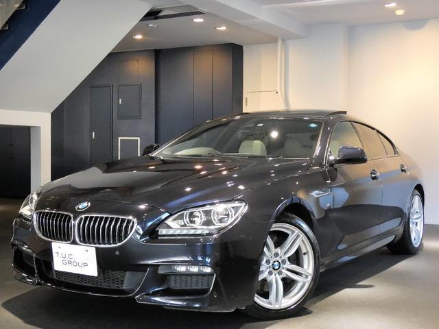 BMW 640iグランCP Mスポーツ Pスタ 白革 SR 2年保証