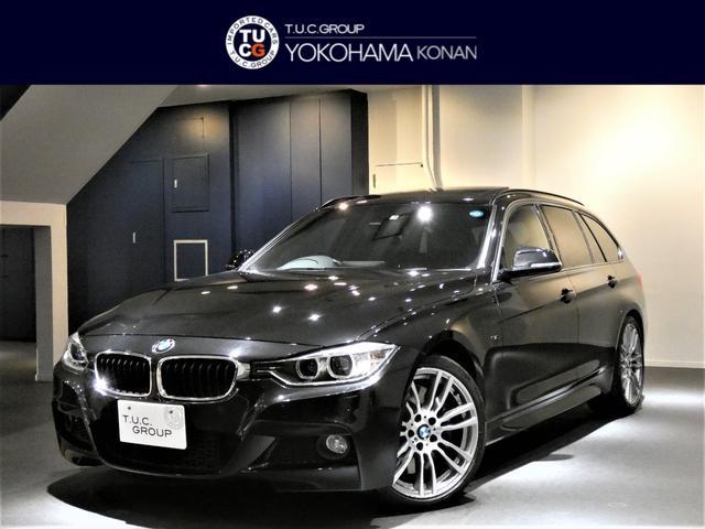 BMW 335iツーリングMスポ 黒革 パノSR ナビTV 2年保証