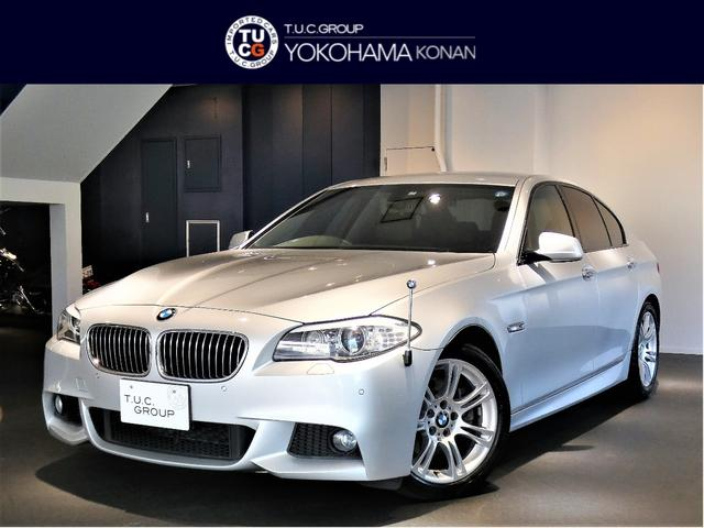 BMW 523i Mスポーツ コンフォA Pスタ ナビTV 2年保証