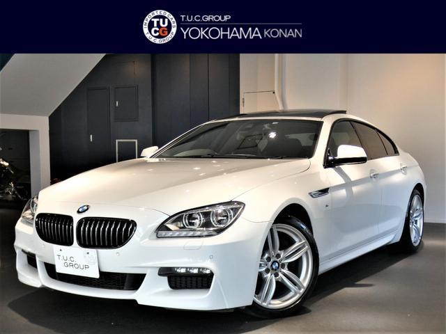 BMW 640iグランCPMスポ 1オナ LDW 黒革 SR2年保証
