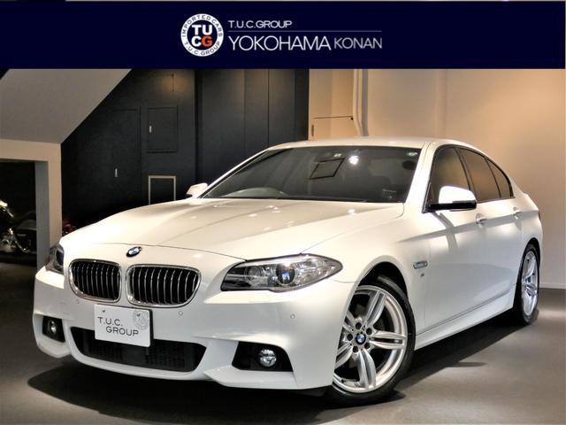 BMW 528iMスポーツ 1オナ ACC 黒革 Dメーター2年保証