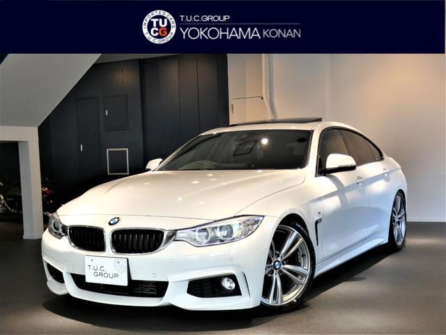 BMW 435iグランCP Mスポ 追ACC 黒革 サンR 2年保証