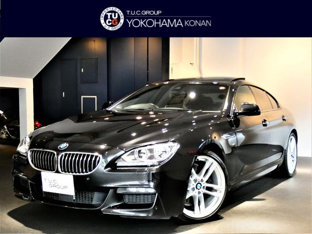 BMW 6シリーズ 640iグランクーペ Mスポーツ コンフォートA 追従ACC 茶革 サンルーフ ナビTV ヘッドアップD LEDライト OP20AW 2年保証