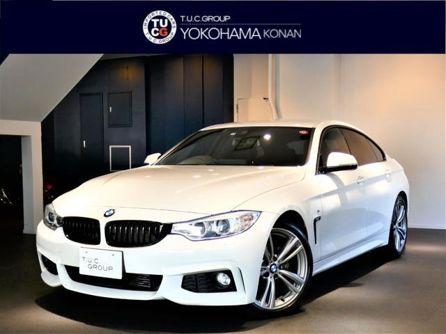 BMW 420iグランクーペ Mスポーツ 1オーナー コンフォA 追従ACC インテリS/レーンDW 黒革 ナビTV Bカメラ 後センサー TVチューナー OP19インチAW 2年保証