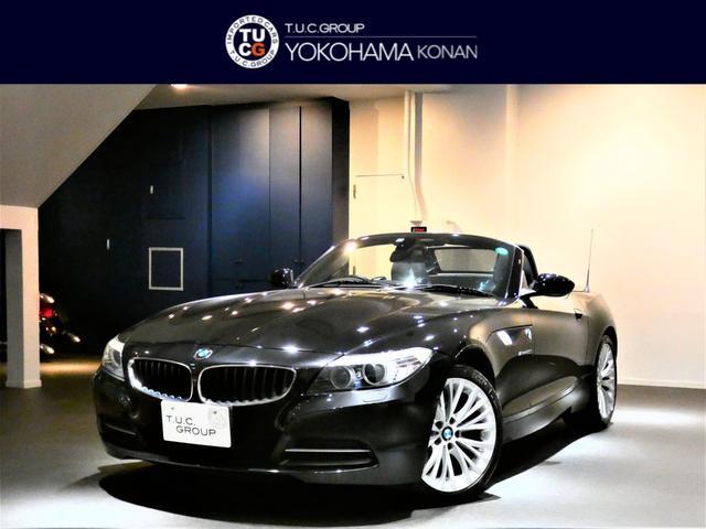 BMW Z4 sDrive20i ハイライン 1オーナー 後期 Pスタ 黒革 シートヒーター ナビ キセノン 2年保証
