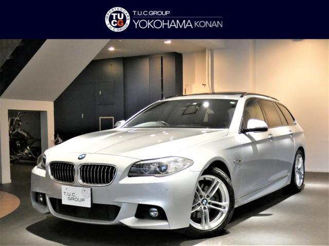 BMW 5シリーズ 523iツーリング Mスポーツ 1オーナー コンフォA 追ACC インテリS/レーンDW パノラマSR ナビTV Bカメラ 前後センサー キセノン オートテールゲート 2年保証
