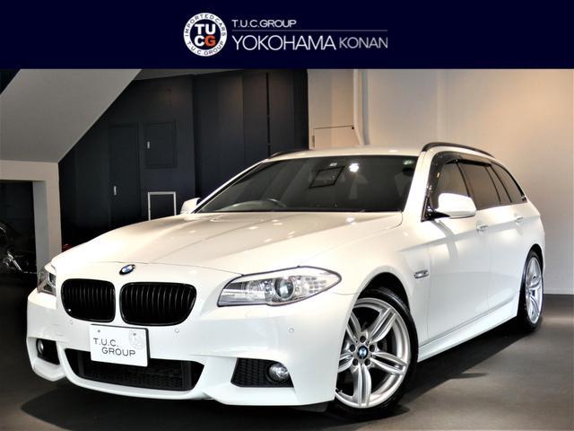 BMW 523iツーリング Mスポーツパッケージ コンフォA iストップ Pシート ナビTV Bカメラ 前後センサー クルコン キセノン Mスポーツエアロ&19インチAW 2年保証