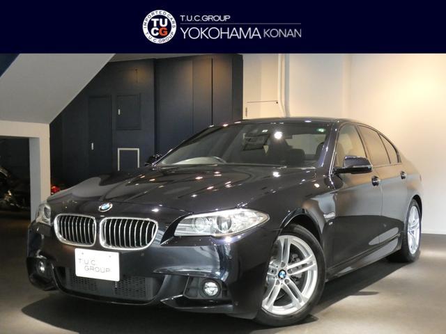 BMW 523d Mスポーツ 1オーナー コンフォA 追従ACC レーンDW 衝突軽減B 黒革 ヒーター ナビTV Bカメラ 前後センサー キセノン 2年保証