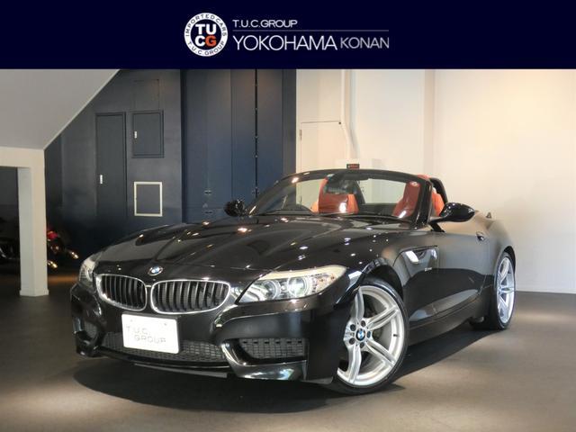 BMW Z4 sDrive20i Mスポーツパッケージ 後期 Pスタート 赤革 ヒーター ナビ OP19インチAW キセノン 電子シフト 2年保証