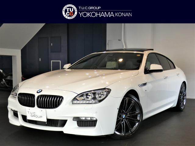 BMW 640iグランクーペ Mスポーツ パーキングサポート&EXCナッパレザーPKG ACC コンフォシート 白革 ヒーター&ベンチレーター サンR トップ&サイドビューカメラ ソフトクローズ カラーメーター 20AW 2年保証