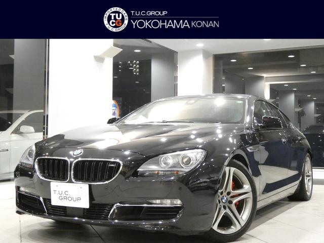 BMW 640iグランクーペ コンフォA 追従ACC レーンDW&レーンCHW 衝突軽減B 茶革 コンフォートシート ヒーター&ベンチレーター ナビTV トップ&サイドビューカメラ ソフトクローズ 19AW 外マフラー 2年保証