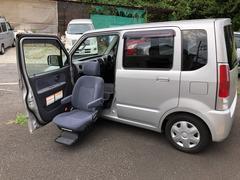 ワゴンR福祉車両|助手席手動回転シート
