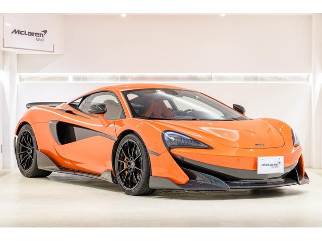 マクラーレン 認定中古車 McLaren Qualified エクステリアカーボンパッケージ1.2 カーボンインテリアパッケージ 内装デザイナーインテリアパッケージ グロスブラックホイール ブレーキキャリパーカラー・アゾレス