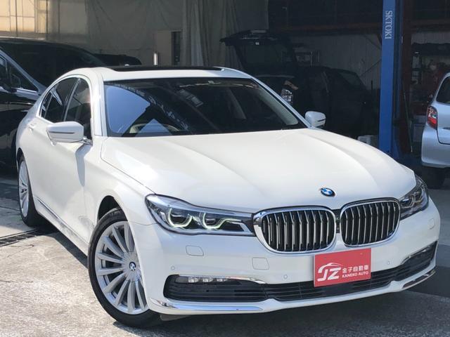 BMW 7シリーズ 740i 禁煙車 サンルーフ 全周囲カメラ 本革