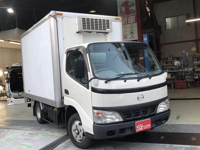 日野 デュトロ 冷蔵・冷凍車 ナビ・バックカメラ付