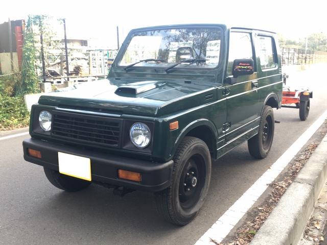 スズキ ターボ バン 4WD 5MT トレーラー付
