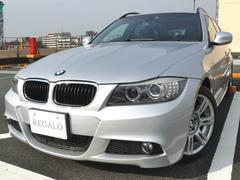 BMW320iツーリング MスポーツPKG 純正HDDナビ ETC