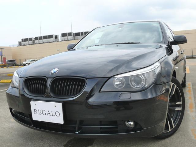 BMW 525iハイライン 黒革 サンルーフ 禁煙車 ナビ ETC