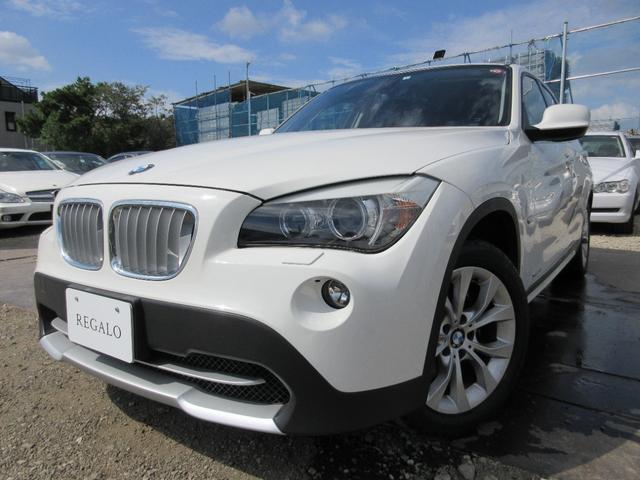 BMW X1 xDrive 25i ハイラインパッケージ サンルーフ社外ナビ黒革ETC禁煙