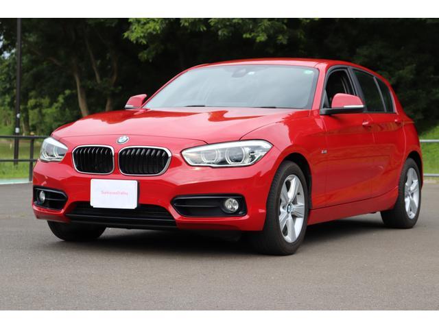 BMW 118i スポーツ衝突軽減Pサポ1オナLEDナビBカメ